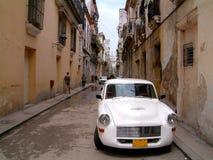 Havana Street. Cuba car in Havana street Royalty Free Stock Images