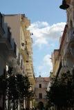 Havana Street Balconies Stock Photography