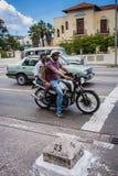 Havana Street Corner - Calles 23 y G Fotografie Stock