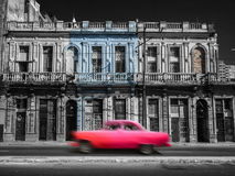 Havana Street, Cuba Royalty Free Stock Photo