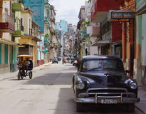 Havana Street Life Royalty Free Stock Photography