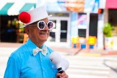 Havana Street Performer pequena foto de stock