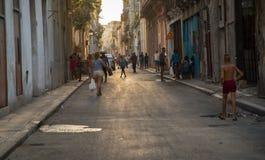 Havana street Royalty Free Stock Photo