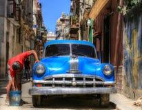Havana Streets Royalty-vrije Stock Afbeelding