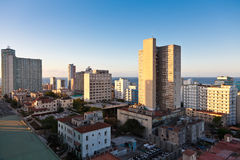 Havana at sunset Royalty Free Stock Photography