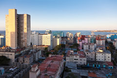 Havana at sunset Stock Photo