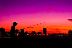 Havana sunset Royalty Free Stock Photography