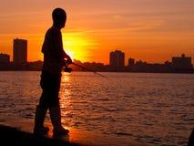 Havana sunset Royalty Free Stock Images