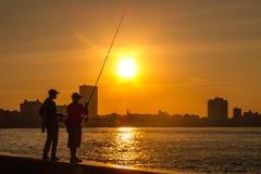 Havana sunset Stock Image