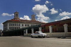 Havana Train Station Stock Photo