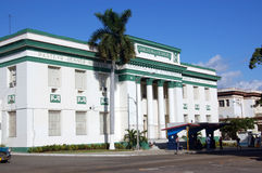 Havana University Medical School Royalty Free Stock Photo