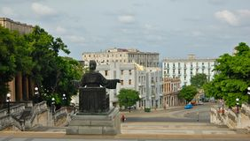 Havana University stairs Stock Photography