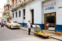 Havana, urban scene Royalty Free Stock Photography