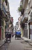 Havana velho, Cuba Fotos de Stock Royalty Free