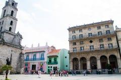 Havana velho, Cuba Imagem de Stock