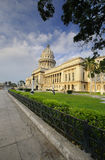 HAVANA View of National Capitol Building. Royalty Free Stock Images