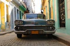 Havana-Weinleseauto Stockfoto