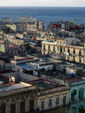 Havana World Heritage. World Heritage of UNESCO, the old districts of Havana is the greatest colonial center of South America Stock Image