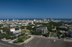 Havana Cuba. From Jose Marti Tower, Revolution Plaza Stock Images