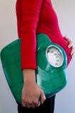 Havandeskap - gravid kvinnahälsovård Royaltyfria Bilder
