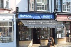 Havanna Cigar Shop Royalty Free Stock Photo