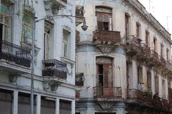 Havanna city dwelling. Decaying charme in Havanna´s city centre Royalty Free Stock Photos