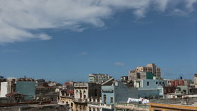Havanna City Timelapse with clouds 4K stock video
