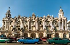 Havanna, Cuba - DECEMBER 24: de architectuur van Cuba, 2012 Royalty-vrije Stock Afbeeldingen