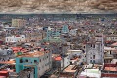 Havanna från över Arkivfoto