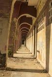 Havannacigarr för tunnelperspektivstadion Arkivbild