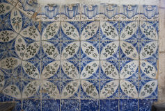 Havannacigarr Kuba, Augusti 2017: Keramiska tegelplattor för arkitekturdetalj Royaltyfri Bild