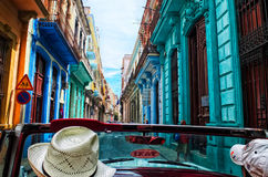 Havannacigarr sammanlagt dess färg Royaltyfria Bilder