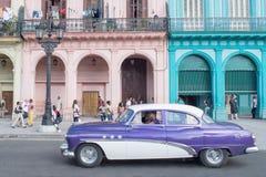 Havannacigarrbil Fotografering för Bildbyråer