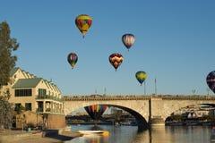 Havasu湖气球费斯特 免版税图库摄影