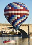 Havasu湖气球费斯特 图库摄影