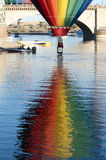 Havasu湖气球费斯特 库存图片
