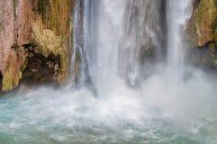 Havasu cai, cachoeiras em Grand Canyon, o Arizona Fotografia de Stock