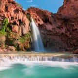 Havasu cai, cachoeiras em Grand Canyon, o Arizona Imagens de Stock Royalty Free