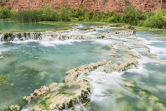 Free Havasu Creek Green Pools & Terraces Stock Images - 84637774