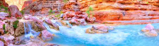 Havasu Creek Stock Photos