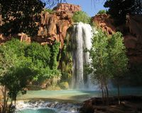 Free Havasu Falls Stock Photos - 3438853