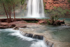 Havasu Falls, Arizona Royalty Free Stock Photography