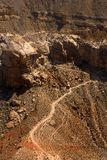 Havasu Falls Grand Canyon Trail Royalty Free Stock Photography
