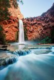 Havasu Falls. Taken in 2015 royalty free stock images