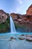 Havasu falls. In an indian reservation near grand canyon stock photos