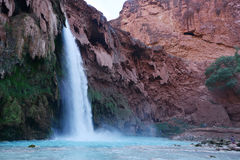 Havasu falls. In an indian reservation near grand canyon stock image