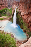 Havasu Falls in Supai, Arizona royalty free stock photos