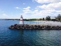 Havasu-Leuchtturm auf dem See Lizenzfreie Stockfotos