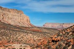 Havasupai Trail near Supai,  Arizona Stock Photography