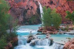 Havasupai-Wasserfall Lizenzfreie Stockbilder